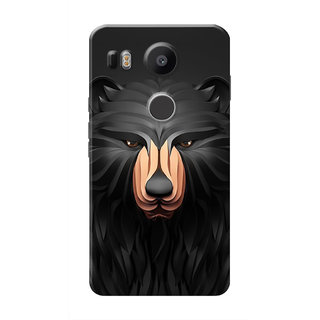 HACHI Cool Case Mobile Cover For LG Nexus 5X