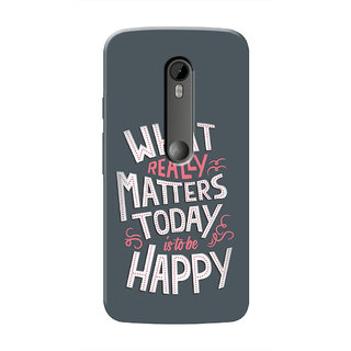 HACHI Cool Case Mobile Cover For Motorola Moto X Style ::