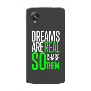 HACHI Cool Case Mobile Cover For LG Nexus 5