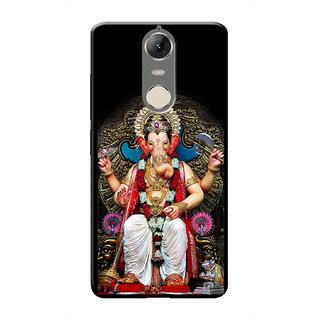 HACHI Lord Ganesha Mobile Cover For Lenovo K5 Note :: Lenovo K5 Note Pro