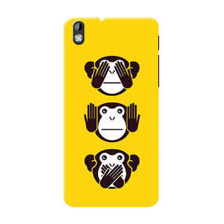 HACHI Cool Monkey Mobile Cover For HTC Desire 816 :: HTC Desire 816G
