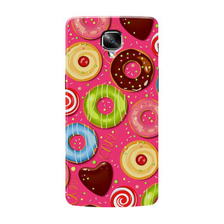 HACHI Doughnut Mobile Cover For OnePlus 3T
