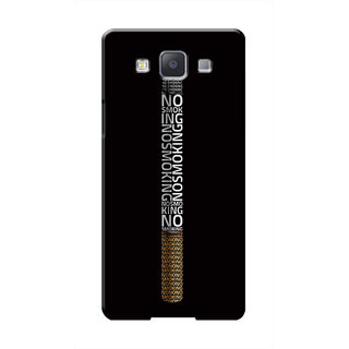 HACHI No Smoking Mobile Cover For Samsung Galaxy A7