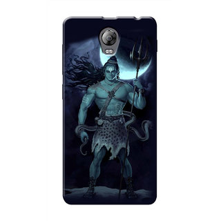 HACHI Lord Shiva Mobile Cover For Lenovo Vibe P1 Turbo