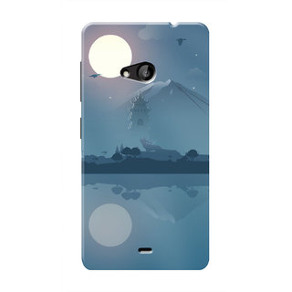 HACHI Cool Case Mobile Cover For Microsoft Lumia 535