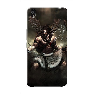 HACHI Lord Shiva Mobile Cover For OnePlus X