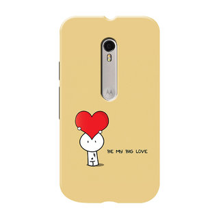 HACHI Cool Case Mobile Cover For Motorola Moto G Turbo Edition