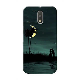 HACHI Cool Case Mobile Cover For Motorola Moto G4