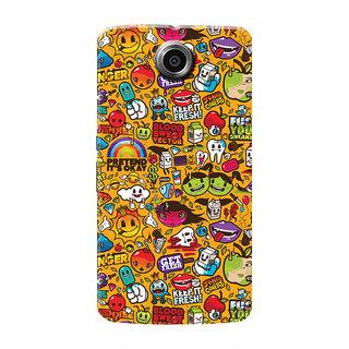 HACHI Cool Case Mobile Cover For Motorola Nexus 6