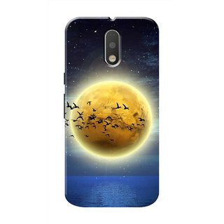 HACHI Cool Case Mobile Cover For Motorola Moto G4