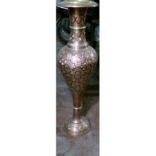 Virsa-Innovative brass flower vase