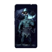 HACHI Lord Shiva Mobile Cover For Microsoft Lumia 535