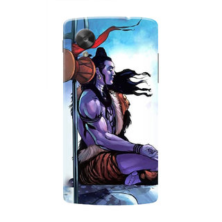 HACHI Lord Shiva Mobile Cover For LG Nexus 5