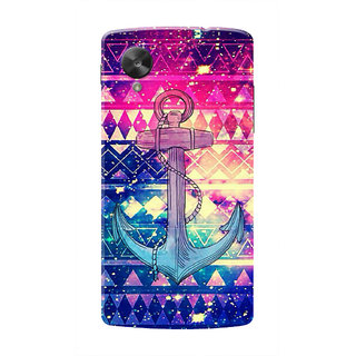 HACHI Anchor Mobile Cover For LG Nexus 5