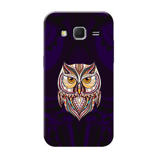 HACHI Cool Owl Mobile Cover For Samsung Galaxy Core Prime