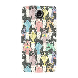 HACHI Hi Kitty Mobile Cover For Motorola Nexus 6