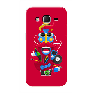 HACHI Cool Artist Mobile Cover For Samsung Galaxy Core Prime