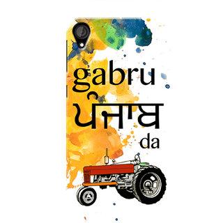 HACHI Gabru Punjab Da Mobile Cover For HTC Desire 820 :: HTC Desire 820 Plus :: HTC Desire 820s