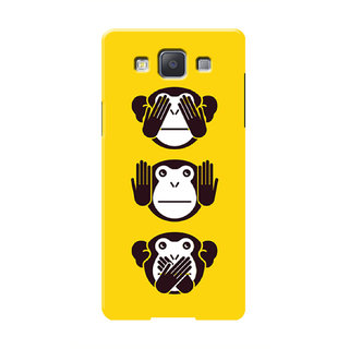 HACHI Cool Monkey Mobile Cover For Samsung Galaxy A7