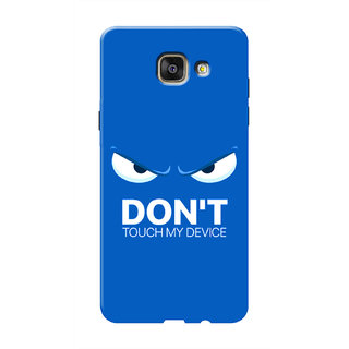 HACHI Don'T Touch My Device Mobile Cover For Samsung Galaxy A5 (2016)