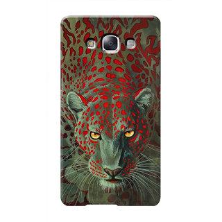 HACHI Leopard Mobile Cover For Samsung Galaxy E7