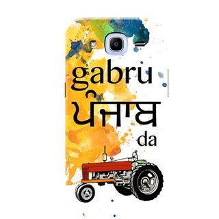 HACHI Gabru Punjab Da Mobile Cover For Samsung Galaxy J2 Pro (2016)