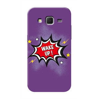 HACHI Wake Up Mobile Cover For Samsung Galaxy Core Prime