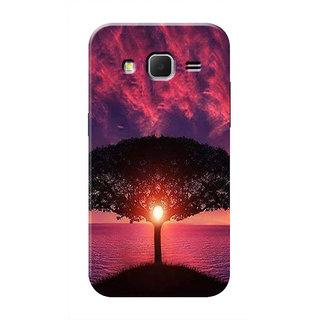 HACHI Beautiful Nature Mobile Cover For Samsung Galaxy Core Prime