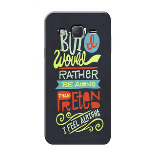 HACHI Cool Case Mobile Cover For Samsung Galaxy J2