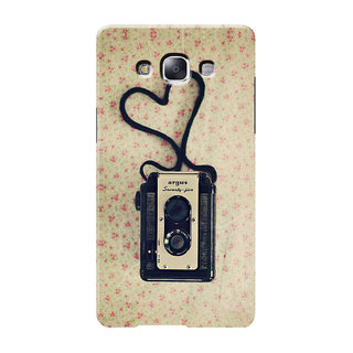 HACHI Cool Case Mobile Cover For Samsung Galaxy E7