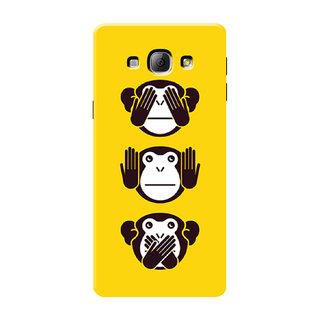 HACHI Cool Monkey Mobile Cover For Samsung Galaxy A8
