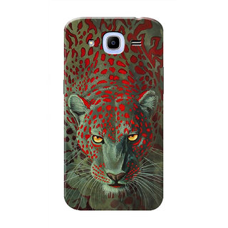 HACHI Leopard Mobile Cover For Samsung Galaxy J2 Pro (2016)