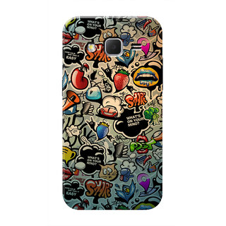 HACHI What'S On Your Mind Mobile Cover For Samsung Galaxy Core Prime