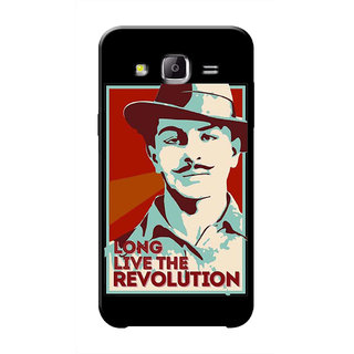 HACHI Bhagat Singh Ji Mobile Cover For Samsung Galaxy J7