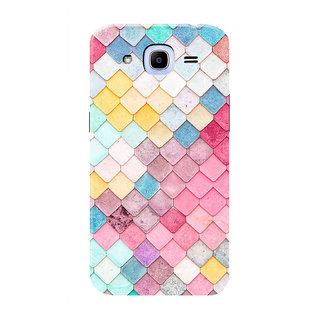 HACHI Beautiful Pattern Mobile Cover For Samsung Galaxy J2 Pro (2016)