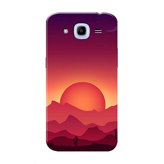 HACHI Cool Case Mobile Cover For Samsung Galaxy J2 (2016)