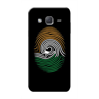 HACHI Indian Artistic Flag Mobile Cover For Samsung Galaxy J2