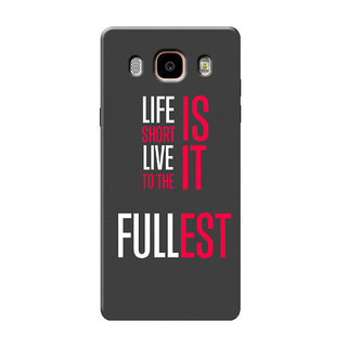 HACHI Cool Case Mobile Cover For Samsung Galaxy ON8