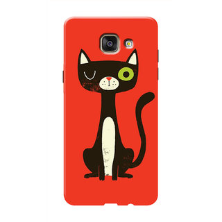 HACHI Cool Case Mobile Cover For Samsung Galaxy A5 (2016)
