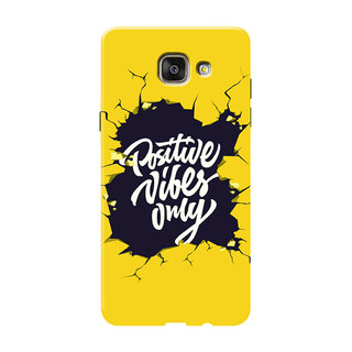 HACHI Positive Vibes Only Mobile Cover For Samsung Galaxy A5 (2016)