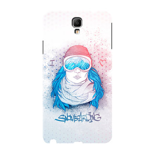 HACHI Love Snow Mobile Cover For Samsung Galaxy Note 3 Neo