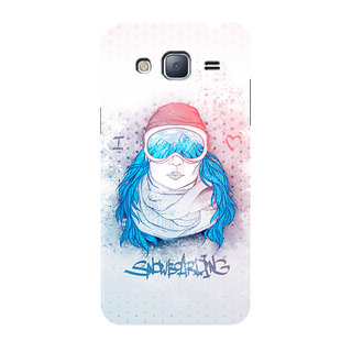 HACHI Love Snow Mobile Cover For Samsung Galaxy J3