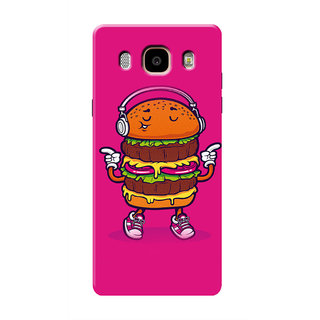 HACHI Love Burger  Music Mobile Cover For Samsung Galaxy ON8