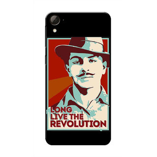 HACHI Bhagat Singh Ji Mobile Cover For HTC Desire 826