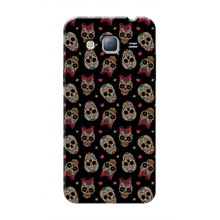 HACHI Pink Perfect Mobile Cover For Samsung Galaxy J3