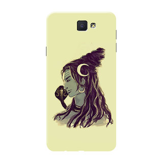 HACHI Lord Shiva Mobile Cover For Samsung Galaxy On7 (2016)