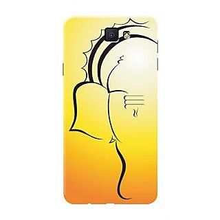 HACHI Lord Ganesha Mobile Cover For Samsung Galaxy On7 (2016)