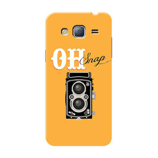 HACHI Oh Snap Mobile Cover For Samsung Galaxy J3