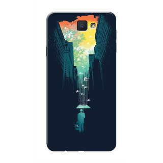 HACHI Cool Case Mobile Cover For Samsung Galaxy On7 (2016)