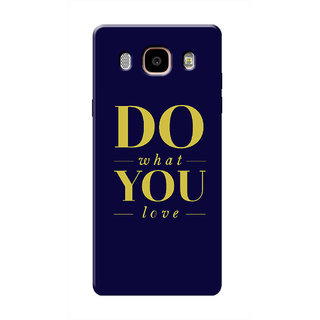 HACHI Cool Case Mobile Cover For Samsung Galaxy J7 (2016)